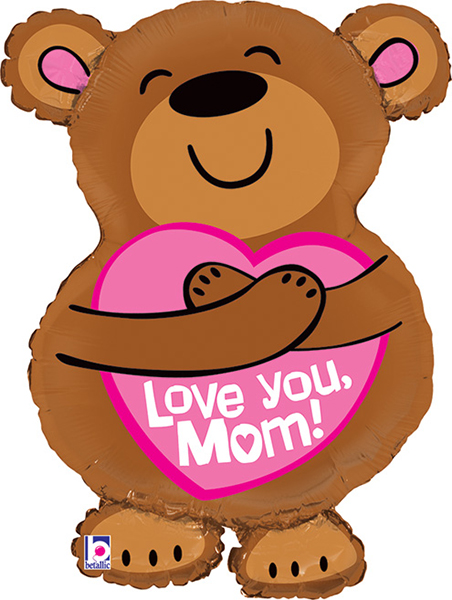 Simply Love – Boutique Party Supplies Shape Big Hug Love You Mom ...