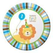 425100 Sweet At One - Boy 9 Dinner Plates