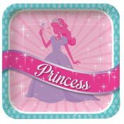 425587_Princess Party Dinner Plates