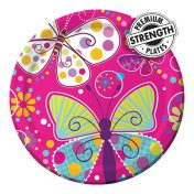 425691_Butterfly Sparkle 9in Dinner Plates