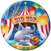 Big Top Party 9 Dinner Plate