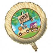 045520-Safari Adventure 18in Metallic Balloon