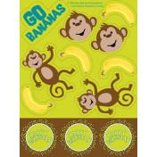 045692 Monkeyin' Around Value Stickers