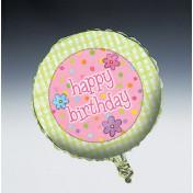 045769 Sleepover Metallic Balloon