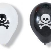 049018 Pirate Parrty! Latex Balloons