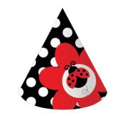 205019 Ladybug Fancy Child Size Child Party Hats