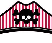 209018 Pirate Parrty! Child Size, Boy Paper Pirate Hats