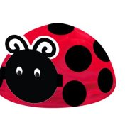 265019 Ladybug Fancy Honeycomb Centerpiece