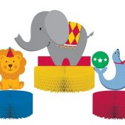 265684-Circus Time! Honeycomb Centerpiece