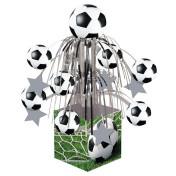 267966_Sports Fanatic Soccer Mini Cascade Foil Centerpiece