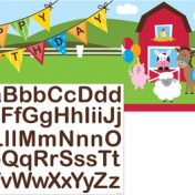 295506-Farmhouse Fun Giant Party Banner with Stickers