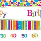 299412-Bright and Bold Giant Party Banner with stickers