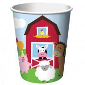 375506-Farmhouse Fun 9 oz. Cups