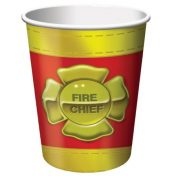 375771 Firefighter 9 Oz Cup