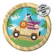 415520-Safari Adventure 7'' Luncheon Plates