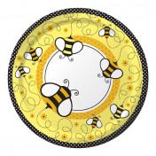 427387 Buzz 9 Dinner Plates