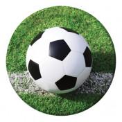 427966 Sports Fanatic Soccer Dinner Plates