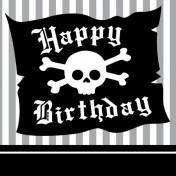 651018 Pirate Parrty! Happy Birthday 3-Ply Beverage Napkins