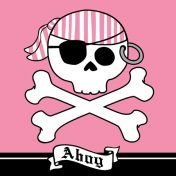 665018 Pirate Parrty! Ahoy 3-Ply Lunch Napkins