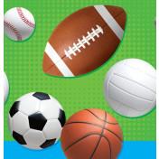 721783 Celebrate Sports Plastic 48x88 Tablecover