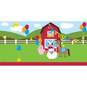 725506-Farmhouse Fun 54in x 108in Plastic Tablecover