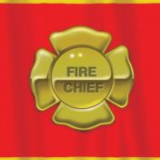 725771 Firefighter Plastic 54x108 Tablecover