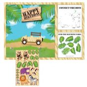 865520-Safari Adventure Placemat Activity with Stickers