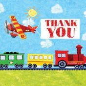 891413 On the Go Thank You Notes