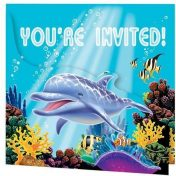 895325 Ocean Party Gatefold Invitations