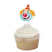 Big Top Party Cupcake Wrapper & Picks