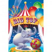 Big Top Party Invitation Pop-up