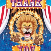 Big Top Party Thank You's