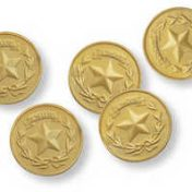Buried Treasure Party Favors Gold Coins