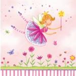 Garden Fairy 3-Ply Beverage Napkins