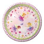 Garden Fairy 7 Lunch Plates