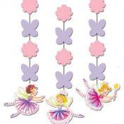 Garden Fairy Hanging Cutouts Fancy