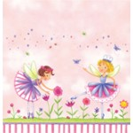 Garden Fairy Plastic 54x108 Tablecover