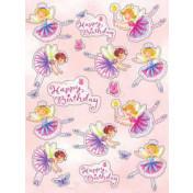Garden Fairy Value Stickers