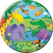Jungle Buddies 7 Lunch Plates