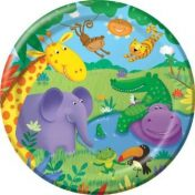 Jungle Buddies 9 Dinner Plates