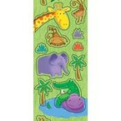 Jungle Buddies Value Stickers