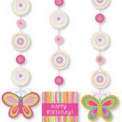 Mod Butterfly Hanging Cutouts
