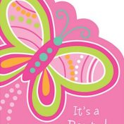 Mod Butterfly Invitation