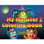Monster Mania Coloring Book