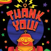 Party 'Bots Thank You's