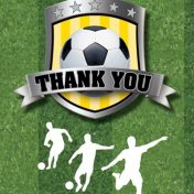 Soccer Thank You's