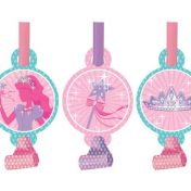 025587-Princess Party Foil Blowouts with Medallions