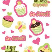 045011 Sweet Treats! Value Stickers