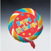 045424 Sugar Buzz Metallic Balloon