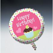 049011 Sweet Treats! Metallic Balloon